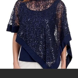 R & M Richards sequined top